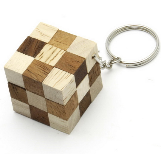 Buy Snake Cube Key Chain