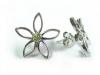 Buy Sterling Silver Peridot Earrings