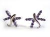 Buy Sterling Silver Amethyst Earrings