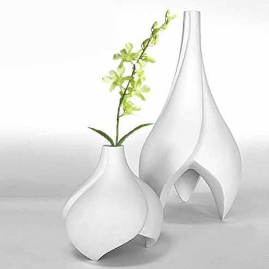 Buy Ceramic vases in fancy shapes