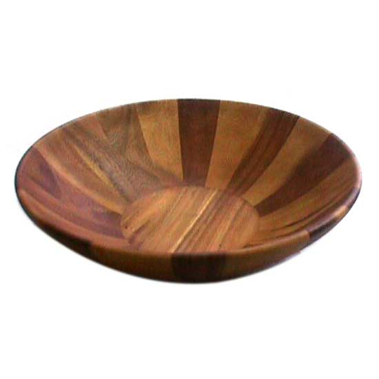 Buy Large Acacia Wooden Salad Bowl