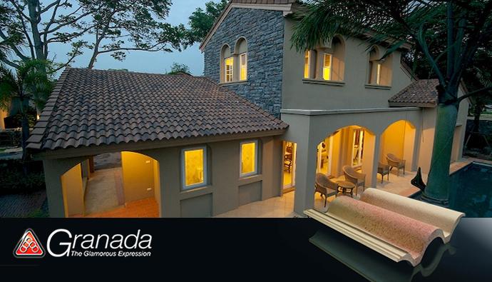 Buy Ha Huang Granada Roof Tile
