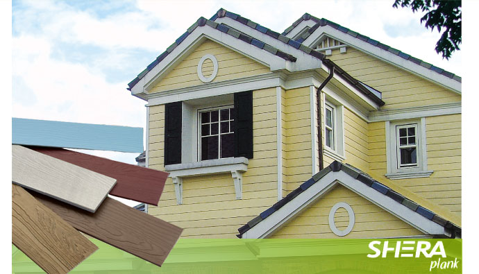 Buy Fiber Cement Siding Shera plank