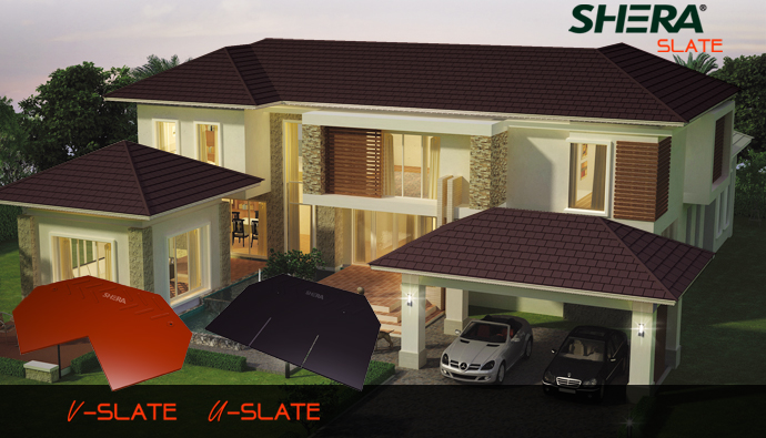 Buy Roof Tile Shera Slate