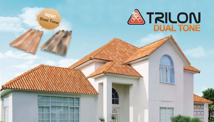 Buy Roof Tile Ha Huang Trilon