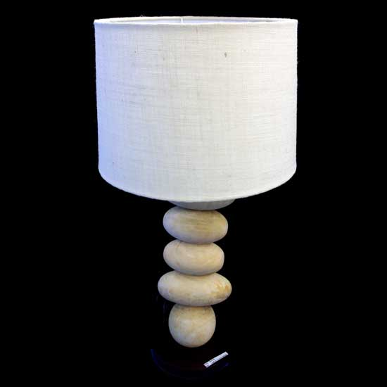 Buy Wooden table lamp