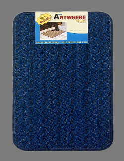 Doormats Black Blue