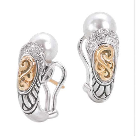 Buy Ladies Pearl Earrings