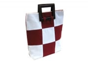 Buy Red & White Cotton Bag