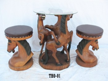 Buy Horse table with chairs
