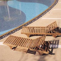 Buy Wooden lounger