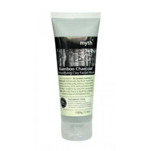 Bamboo Charcoal Detoxifying Clay Facial Mask