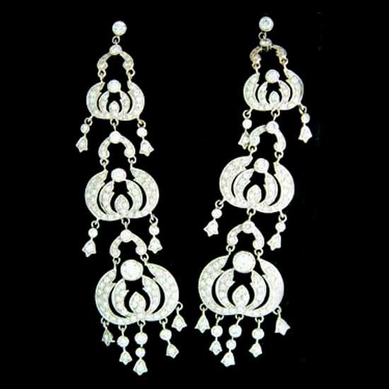 Buy Ladies Diamond Earrings