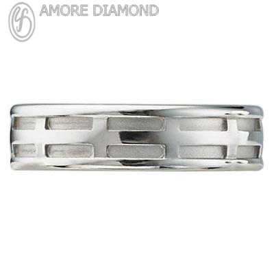 Buy Men Wedding Ring RM009-WG 14K
