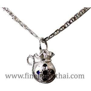 Buy Pendent Hand Made Z_P01003009 Silver 99.9%