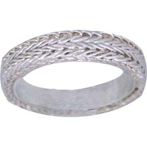 Buy Ring Hand made Z_R2-4g Silver 99.99%