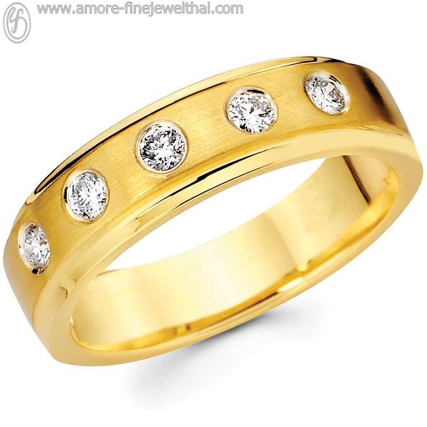 Buy Wedding Ring with diamond 14K RWCD001G