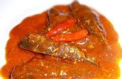 Sardine in hot sauce