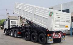 Dump Body Semi Trailer (C030310)