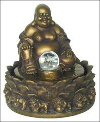 Happy Buddha fountain