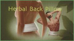 Arose Back Pillow