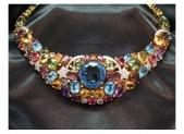Diamond necklace JN0011 Gold 22K