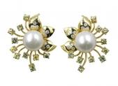 Earrings JE0205 Gold 22K
