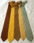 Set of Five Neckties