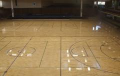 Solid Sport Wooden Flooring