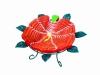 Fruit Tray: Stratum China Rose