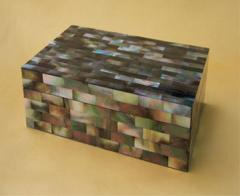 Black Mother of Pearl Box