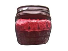Red Crocodile Small Bag
