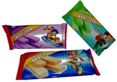 Marvin chocolate flavoured cream wafer