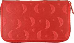 Genuine Pig Leather Wallet PIGWE8009R Red