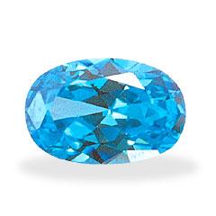 Cubic Zirconia- Blue