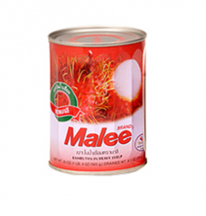 Canned tropical fruits