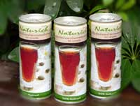 Malva Jelly In Safflower Drink