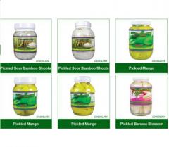Pickled Products (Bamboo Shoots, Mango,Banana