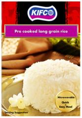 Pre cooked long grain rice