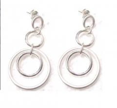 Sterling Silver Hoop Earring