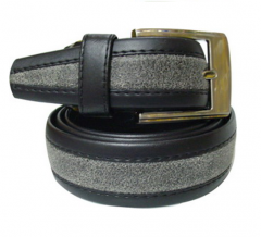 Belt with Leather crack