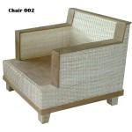 The Rattan armchair 002