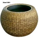 Rattan stool 001