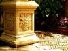 Grape stand: decorative stone ornament [EPL001]