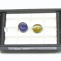 Sapphire And Cat's Eye Stone