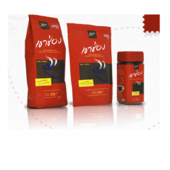 Agglomerated instant coffee Formula 2