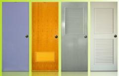 Poly Timber PVC door