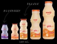Fat-free drinking yoghurt