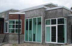PVC Glass Walls