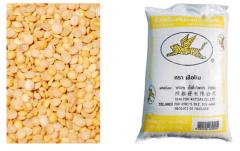 Hulled split soya bean